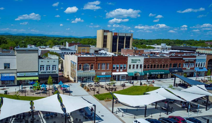 CommScope And City Of Hickory Partner For Free Wi-Fi In Downtown