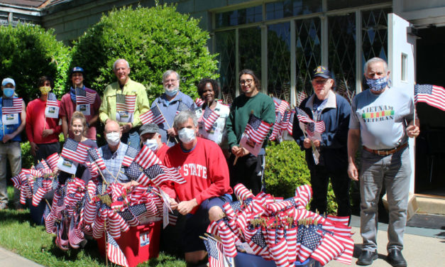 Flags For Heroes Available At  Local Restaurants In Hickory
