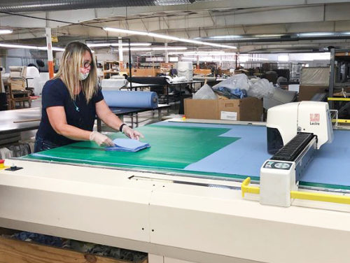 Alexander County Businesses Make PPE For Health Care Workers