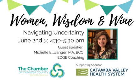 Women, Wisdom & Wine:  Navigating Uncertainty, June 2