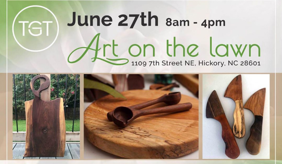 Local Woodworking Artist Hosts Art On The Lawn, Saturday 6/27