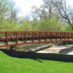 Future Horseford Creek Bridge At Hickory's Glenn Hilton Park
