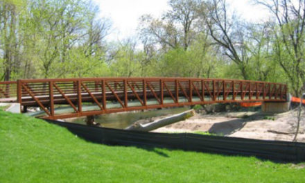 Future Horseford Creek Bridge At Hickory's Glenn Hilton Park