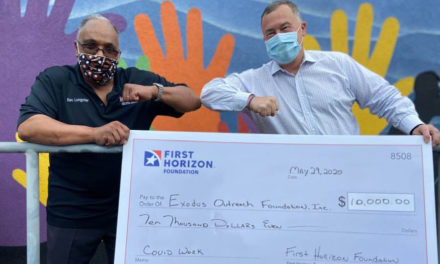 First Horizon Bank Saves Exodus Homes With $10K Donation