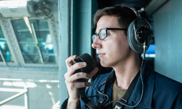 Hickory Local, Vincent Argiro, Stands Watch On USS Harry S. Truman In The Atlantic Ocean