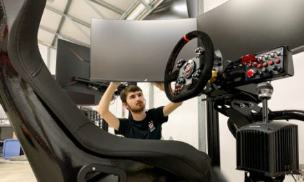 LRU Student Builds Racing Simulators For Nascar Pros