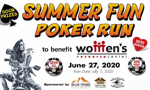 Summer Fun Poker Run To Benefit Women's Resource Center, 6/27