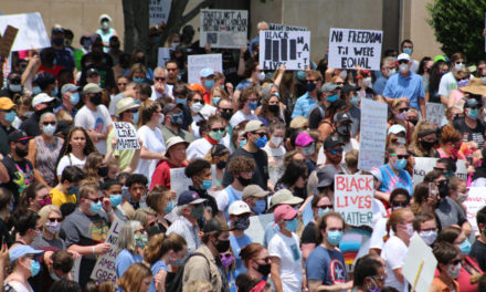 The Community Came Together In Hickory For Peaceful Demonstrations To End Police Brutality