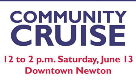 "Newton ""Small, Safe & Local"" Community Cruise On June 13"