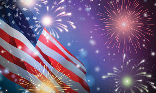 Morganton's Freedom Park Fireworks Show, July 4