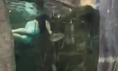 Police Reel In Louisiana Man Captured Swimming In Fish Tank