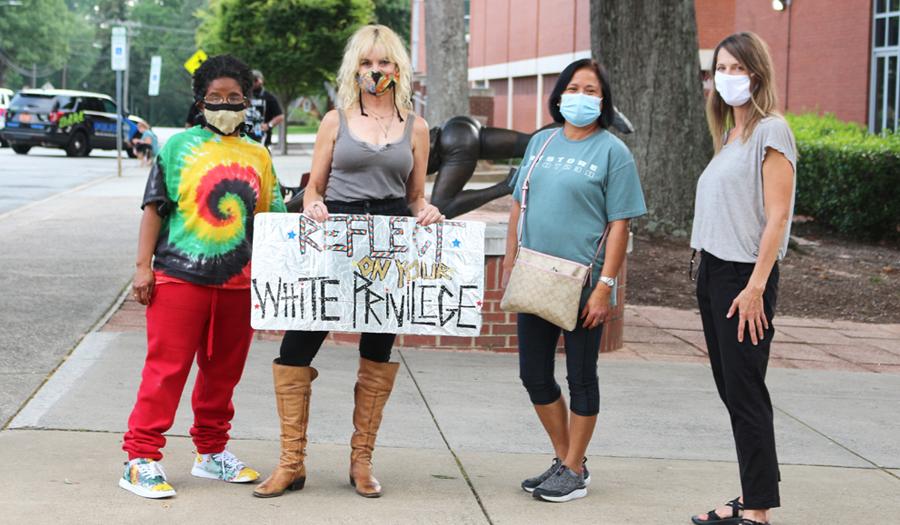 Black Women's Solidarity March Held On July 5