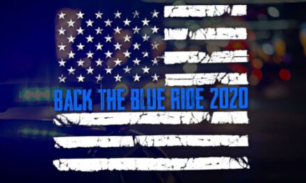 Back The Blue Ride Event, This Saturday, August 29, At 8AM