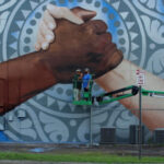 Exodus Homes Unveils New  Mural Celebrating Diversity