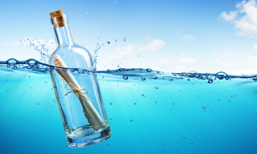 Kayaker Reunites Author With Message In A Bottle From 1985