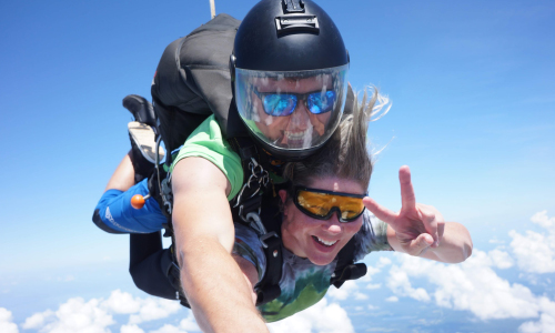 Skydiving With Jesus