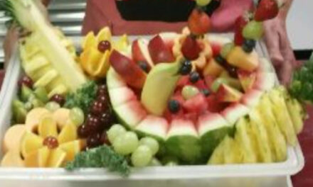 Register Now For Fruit Sculpture Class This Saturday, August 29
