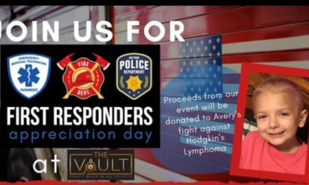 The Vault Hosts First Responders Celebration, Saturday, Sept. 26