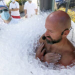 Austrian Man Spends 2.5 Hours In Box Filled With Ice Cubes