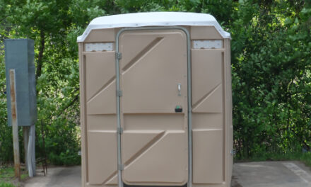 Wasted Kicks: Porta-Potty Seen Rolling On Route 66
