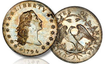 Rare 1794 Silver Dollar Goes  Unsold At Auction In Las Vegas