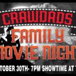 Family Movie Night At LP Frans, Friday, October 30 At 7PM