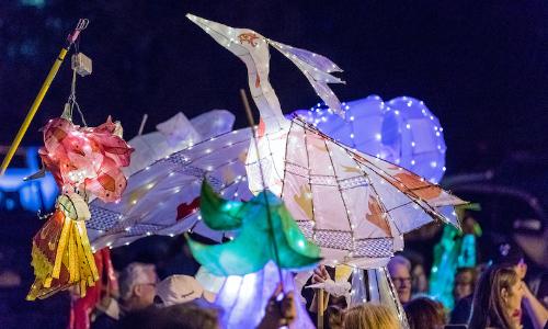 3rd Annual Mount Holly Lantern Parade, October 24