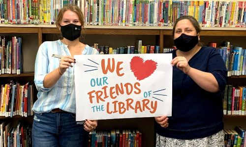 Library Observes National Friends Of Libraries Week