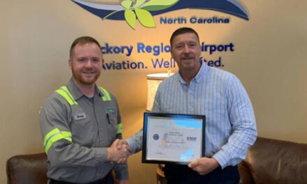 Hickory Airport Manager, Terry Clark, Receives Patriot Award