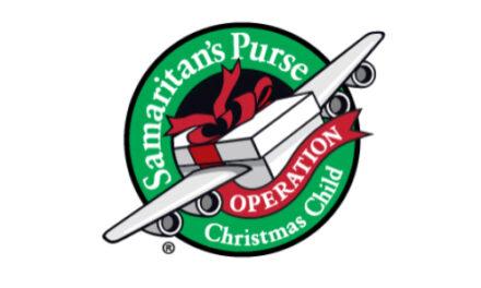 Samaritan's Purse Operation Christmas Child, Nov. 16 – 23