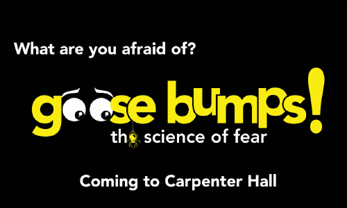 New Exhibit Goose Bumps! Coming To Science Center, 12/2