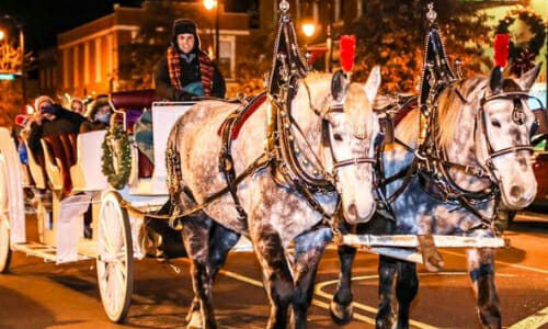 Carriage Rides On Thursday, Dec.17, In Downtown Statesville