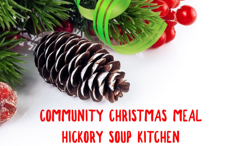 Community Christmas Meal For Those In Need, December 25
