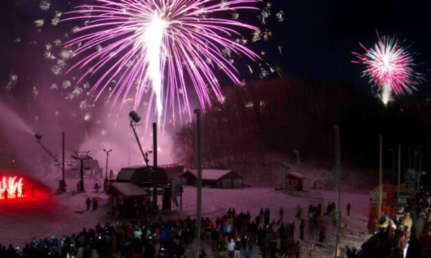Appalachian Ski Mountain NYE Celebration With Fireworks