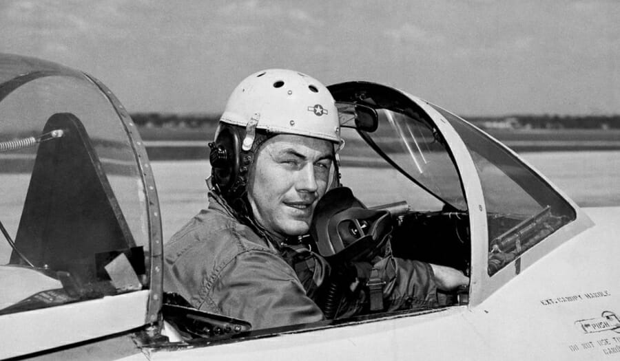 Chuck Yeager, First To Break Sound Barrier, Dies At 97
