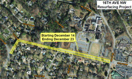 Resurfacing Of Hickory's 16th Ave. NW Will Be Finished By 12/23