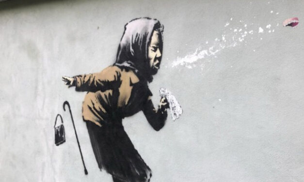 UK Homeowner Delays Sale Of Home After Banksy Mural Appears