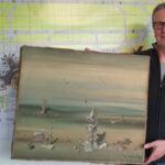 Precious Painting Lost At German Airport Found At Dumpster
