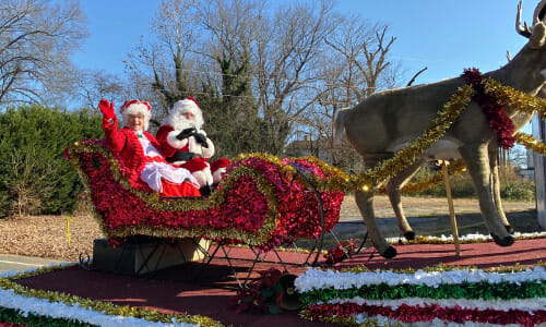 Santa's Coming To Valdese This Saturday, December 5