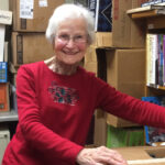 Sylvia King Receives Award For Volunteer Work With Catawba County Library