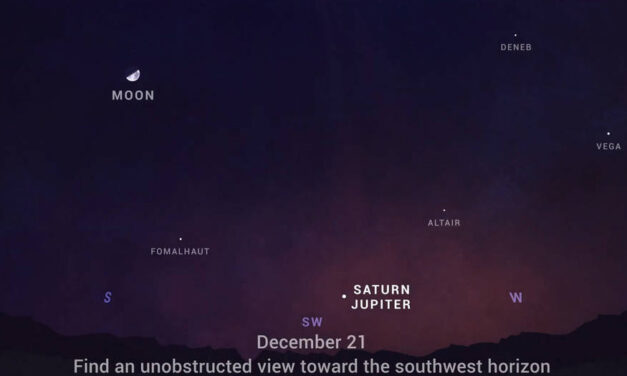 Conjunction Of Jupiter And Saturn To Create 'Christmas Star,' Dec. 21