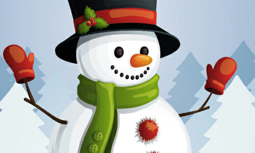 Downtown Hickory Snowman Stroll, Now Through Dec. 28