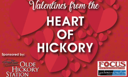 Valentines From The Heart Of Hickory, Downtown On Feb. 13