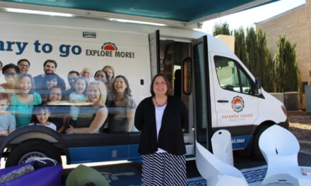 Library To Go Resumes Visits to Town of Catawba