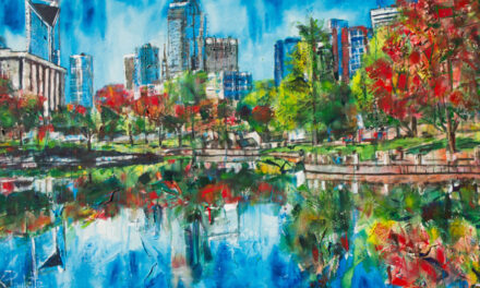 Hickory Native's Painting For Charity