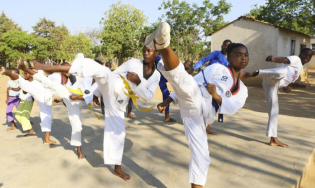 Teenager Teaches Taekwondo To Fight Child Marriage