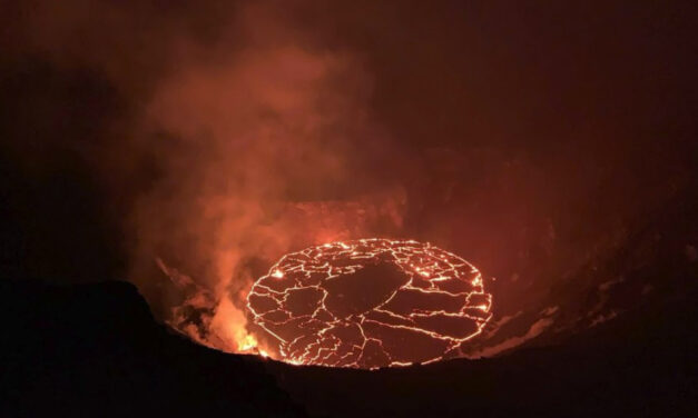 Kilauea Volcano Still Spewing Lava In Hawaii