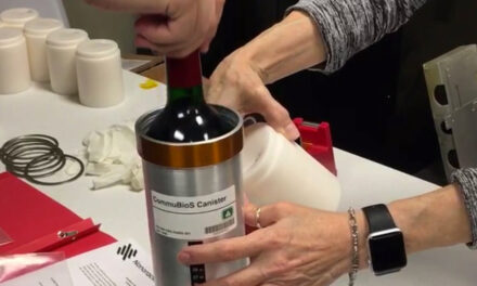 French Wine And Vines Headed Home After Year In Space