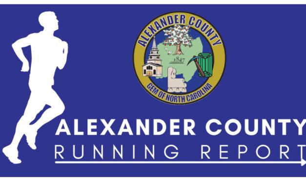 Alexander County Announces Running Race Schedules