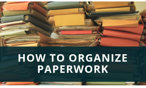 Library Shares Strategies For  Organizing Paperwork, 2/19